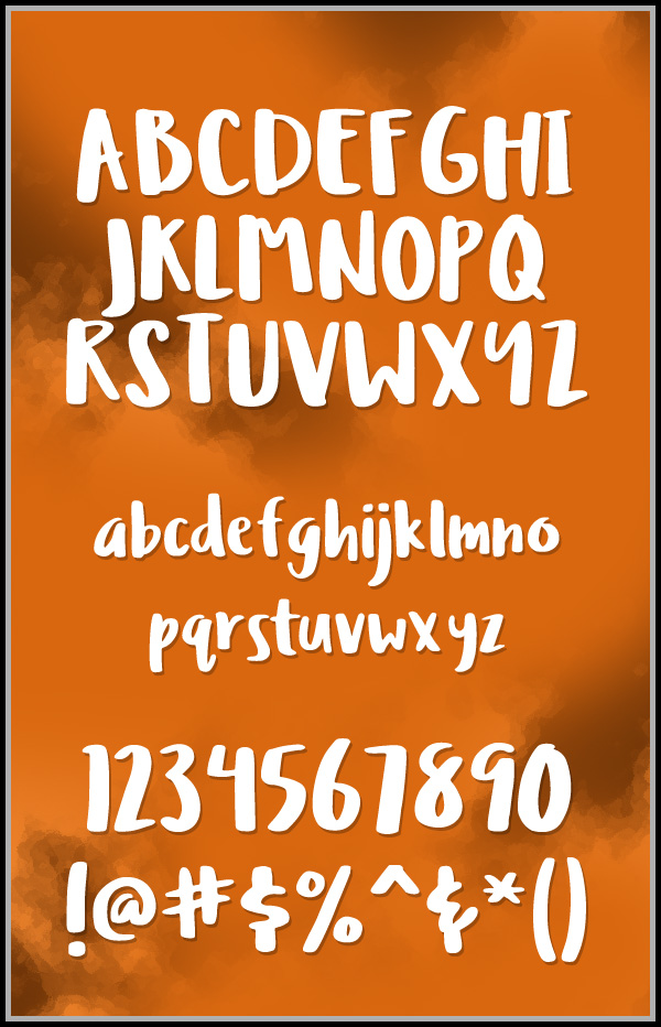 Ludicrous fonts and letters