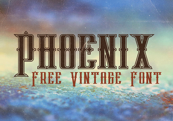 Phoenix Free Hipster Fonts
