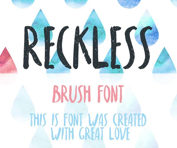 Reckless Free Hipster Fonts