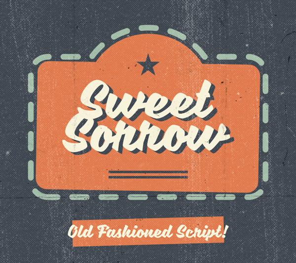 Sweet Sorrow Free Hipster Fonts