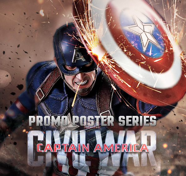 Captain America: Civil War Custom Posters for Inspiration