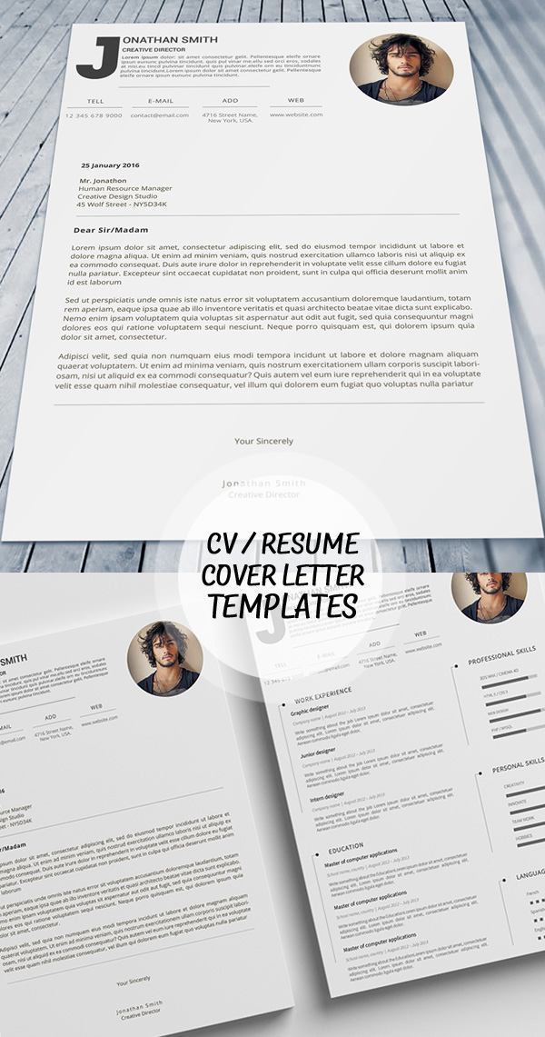 50 Best Minimal Resume Templates - 29