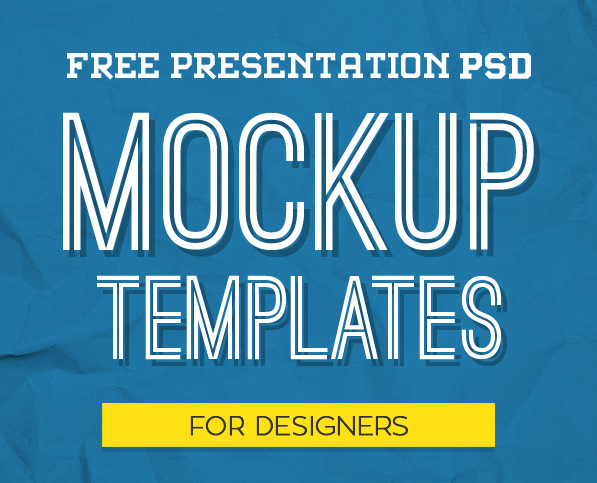 new free photoshop psd mockups for designers