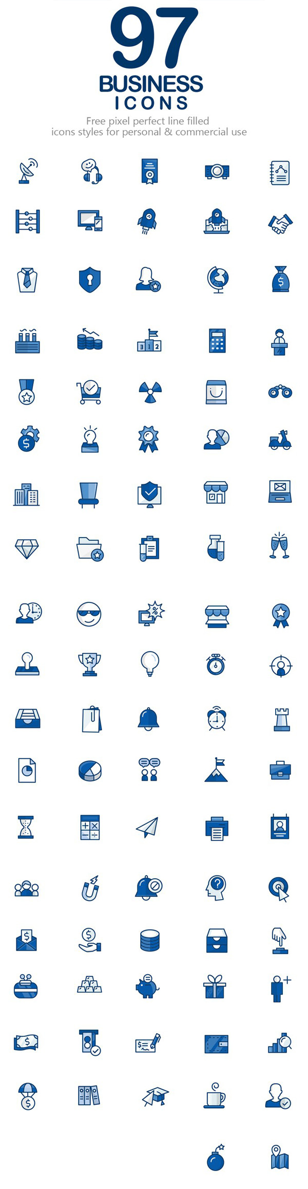 Free Business Vector Icons (97 Icons)