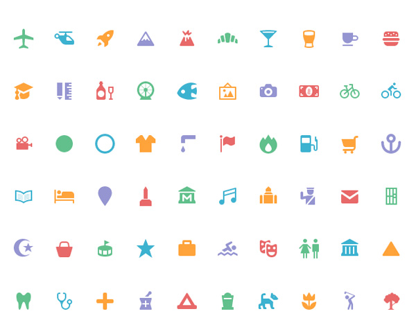 Free Tiny Icons for Designers (114 Icons)