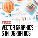 Post thumbnail of 25 Free Vector Graphics and Infographics Design Elements