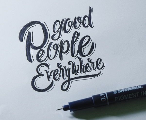 Good People Everywhere by Wahyu Andi