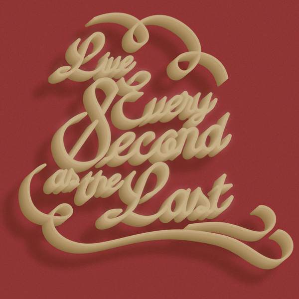 Live every second as the Last by Guillem Ruiz