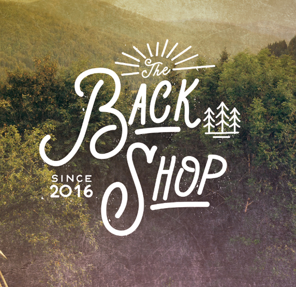 The Back Shop Identity by Delicious Estudio
