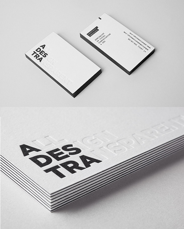 All Design Transparent: Self-Branding
