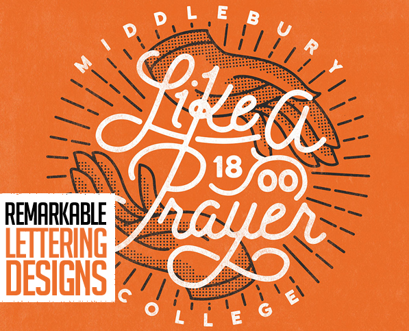 25 New Remarkable Lettering and Typography Designs