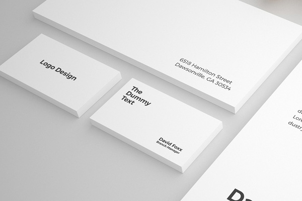 Free Stationary Mockup PSD Template - 1