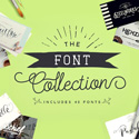 The Font Collection – 40 Beautiful PUA Encoded Fonts