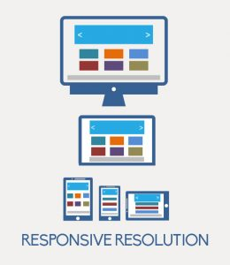 Website responsive resolution