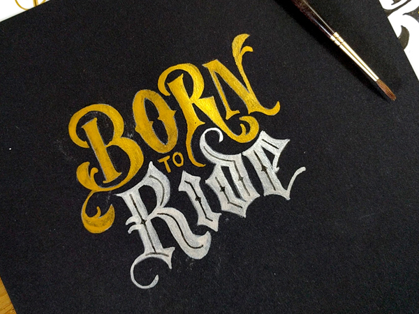 Born to Ride by Ian Barnard