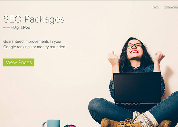 One Page Websites - 50 Fresh Web Examples - 14