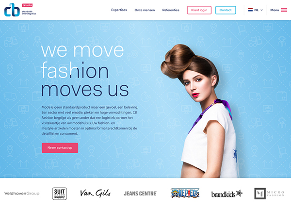One Page Websites - 50 Fresh Web Examples - 22