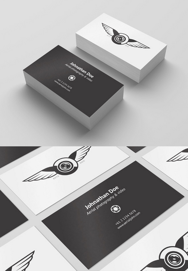 30 free business card psd templates mockups design graphic free psd business card template mockup accmission Images