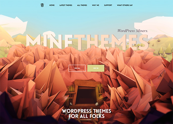 One Page Websites - 50 Fresh Web Examples - 40