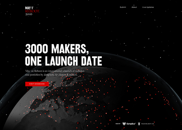 One Page Websites - 50 Fresh Web Examples - 42