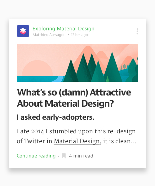 50 Innovative Material Design UI Concepts with Amazing User Experience - 7