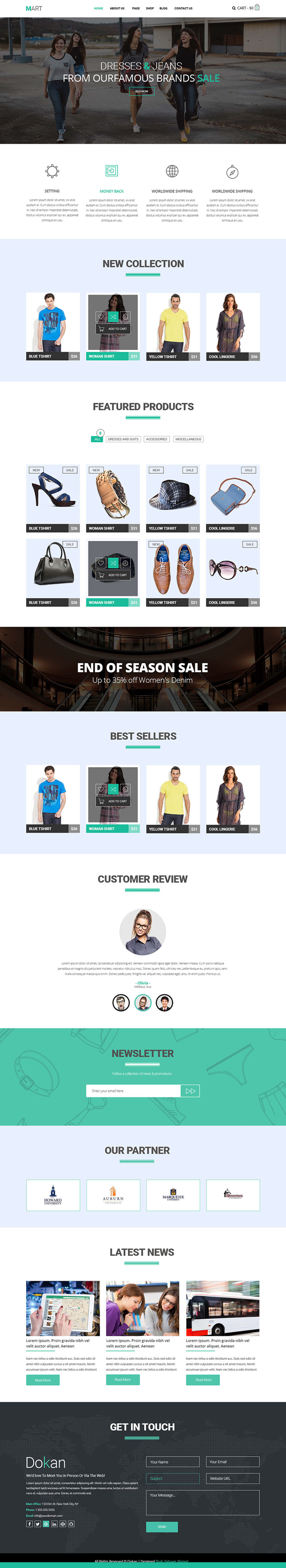 15 Free Responsive PSD Website Templates | Freebies | Graphic Design ...