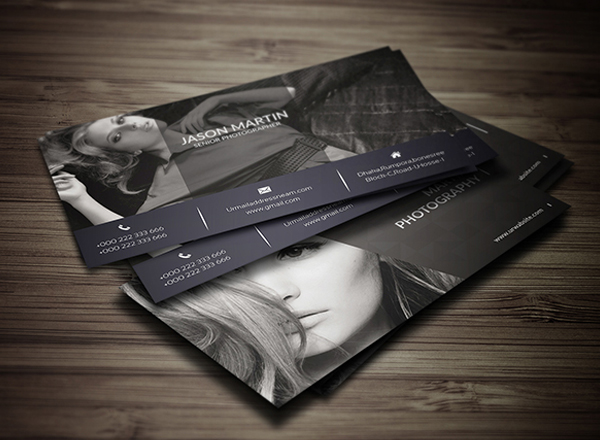 Free Photography Business Card Design