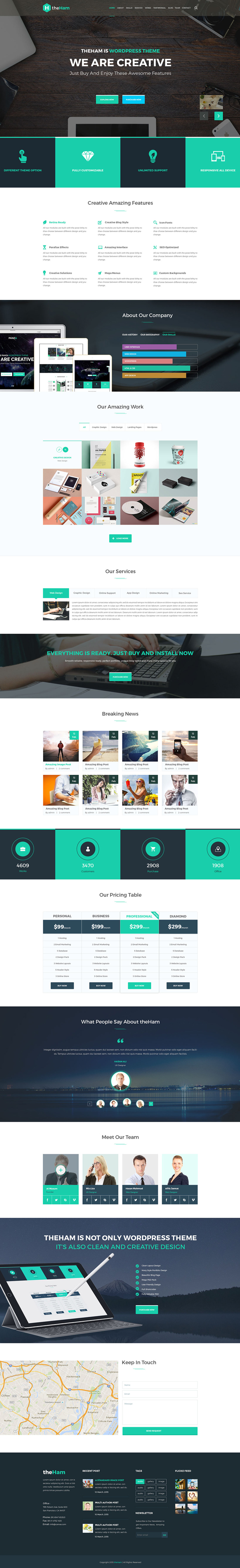 15 free responsive psd website templates freebies graphic