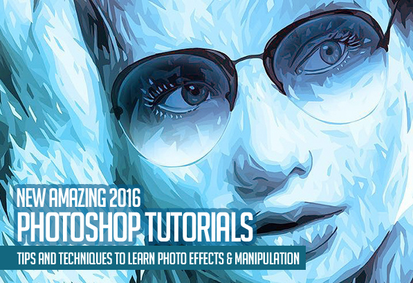 25 new photoshop tutorials to learn exciting photoshop skills.