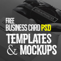 Post thumbnail of 30 Free Business Card PSD Templates & Mockups