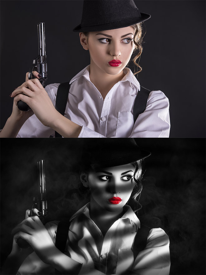 How To Create a Sin City Style Photo Manipulation Effect in Photoshop