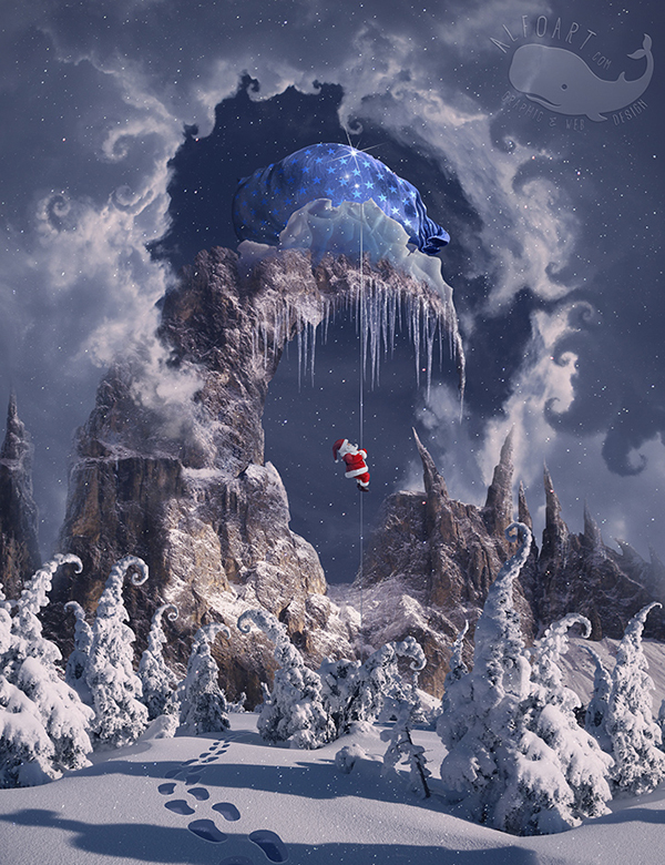 0d483821270bc Learn How to Create Winter Magic Photo Manipulation in Photoshop Tutorial