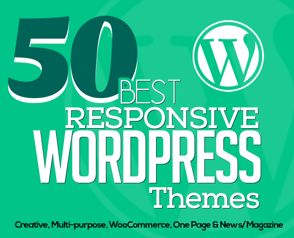 50 Best Responsive WordPress Themes