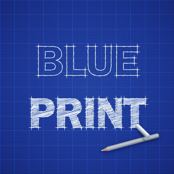 How to Create a Blueprint Text Effect in Adobe Illustrator