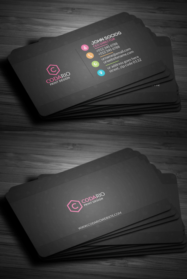 business cards design 26 ready to print templates design