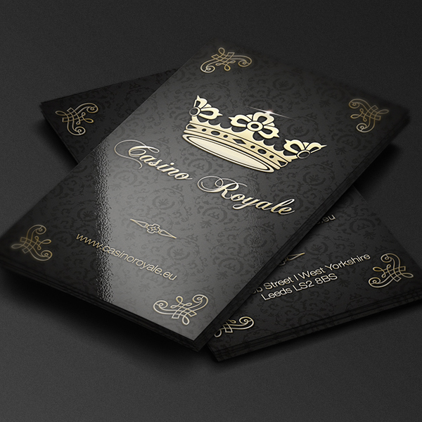 Casino Royale Business Card
