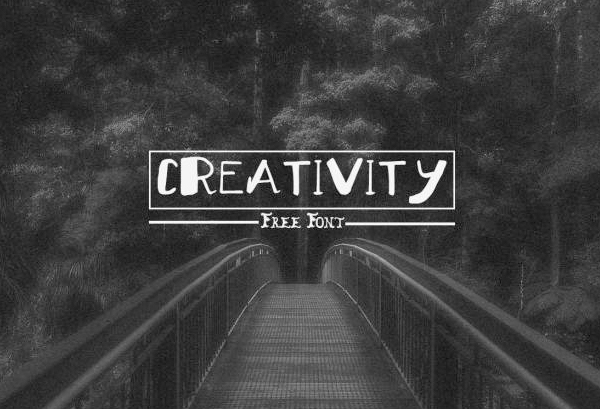 Creativity Free Hipster Fonts