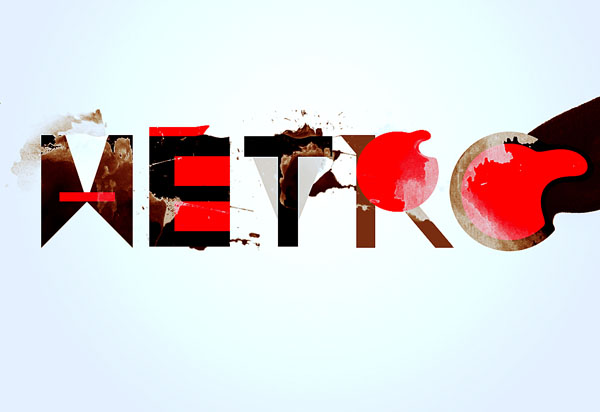 Create Typography Using Simple Geometric Shapes In Photoshop