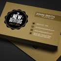 Post Thumbnail of Freebie - Vintage Business Card PSD Template