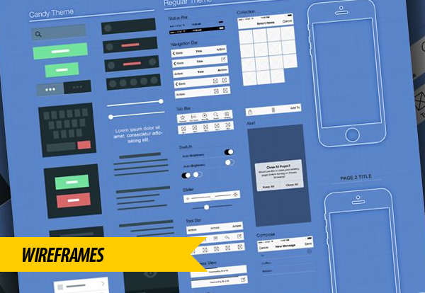 Wireframes Prototype Method