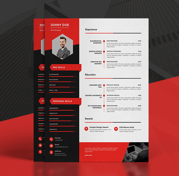 Templates Resume Modern Resume Template Cv Template Cover Letter By