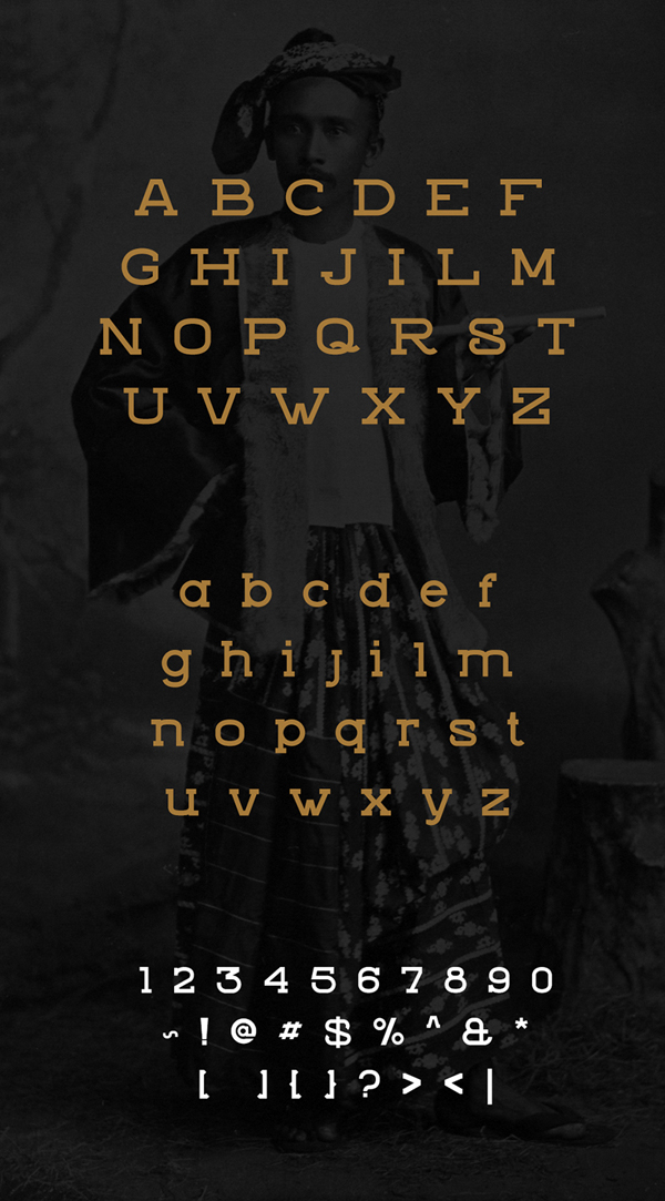 Zviro Free Hipster Fonts and Letters