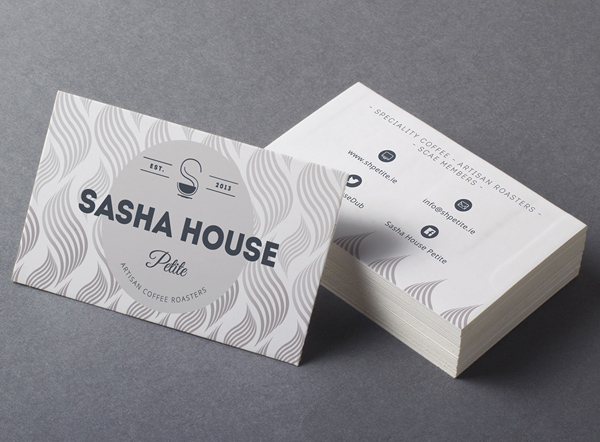 SASHA HOUSE PETITE Business Cards