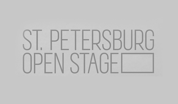 St. Petersburg Open Stage Logo design