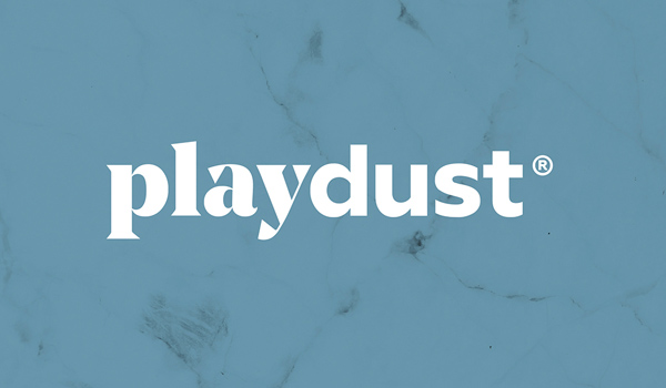 playdust Logo design