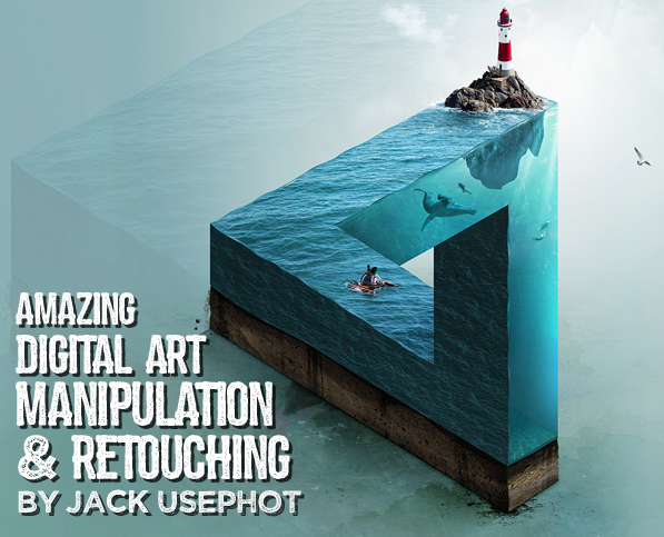 Amazing Photo Manipulation & Retouching by Jack Usephot