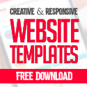 Post thumbnail of 12 New Free Responsive PSD Website Templates
