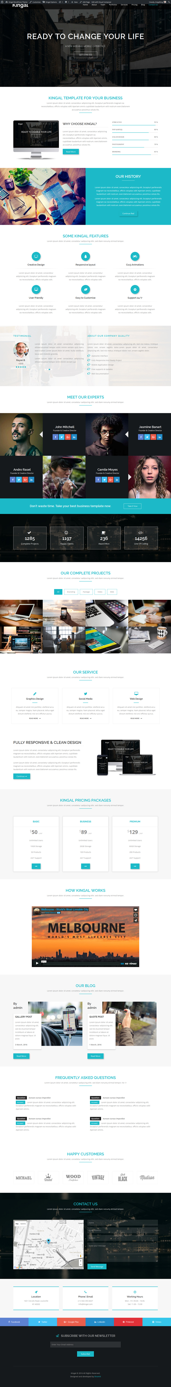 Kingal - MultiPurpose WordPress Theme