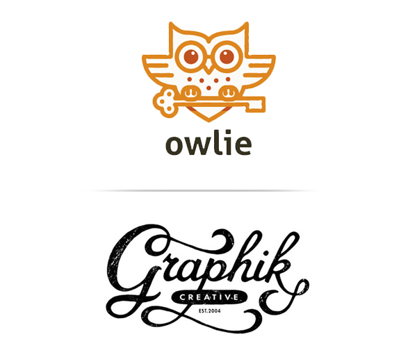 Line Art and Hand Drawn Logos