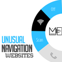 Unusual Navigation Websites Design – 30 Web Examples